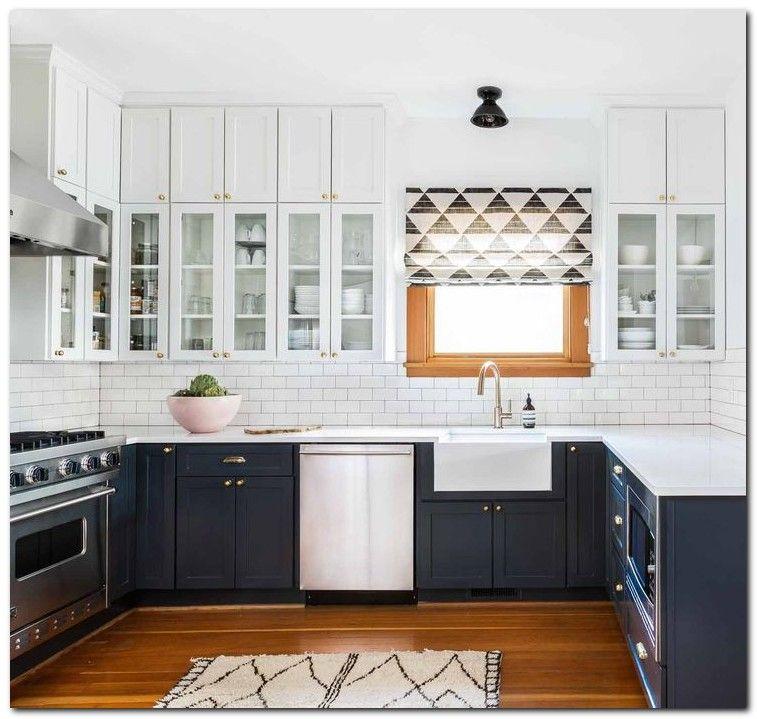 80 Cool Kitchen Cabinet Paint Color Ideas: 80+ Setup Minimalist Kitchen Cabinets