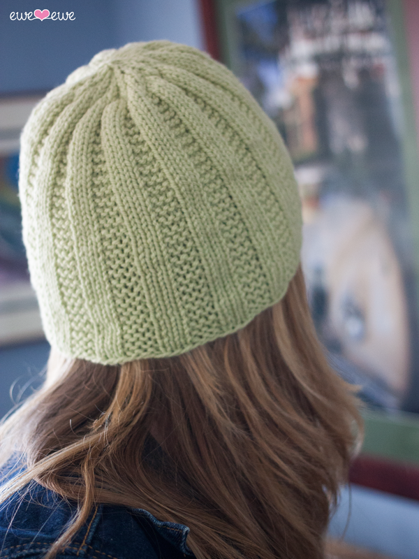 Free Knitting Pattern Cottage Cap Easy Hat Pattern Knit Patterns
