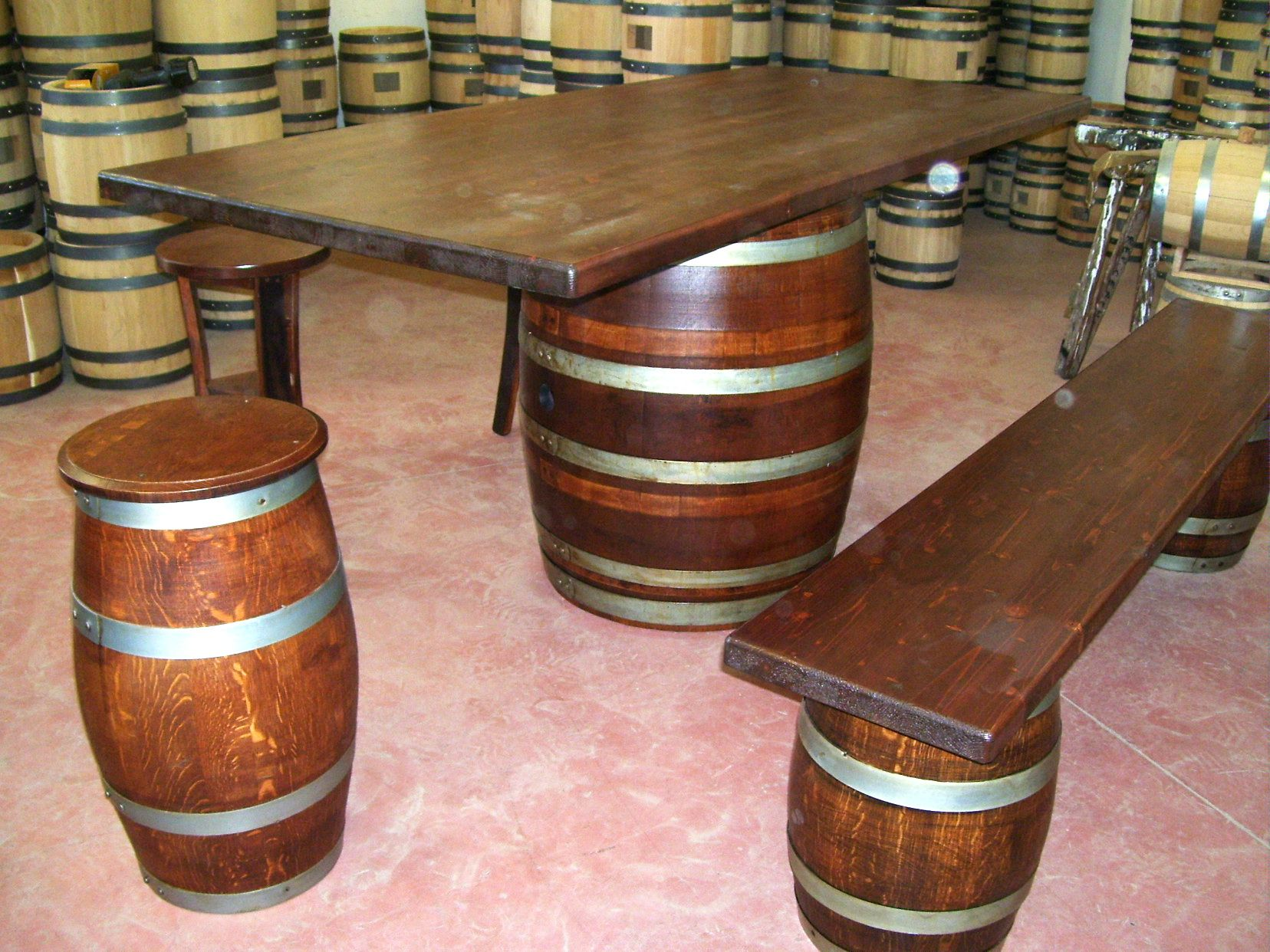 Tavolo da birreria e osteria da metri con panca a cor