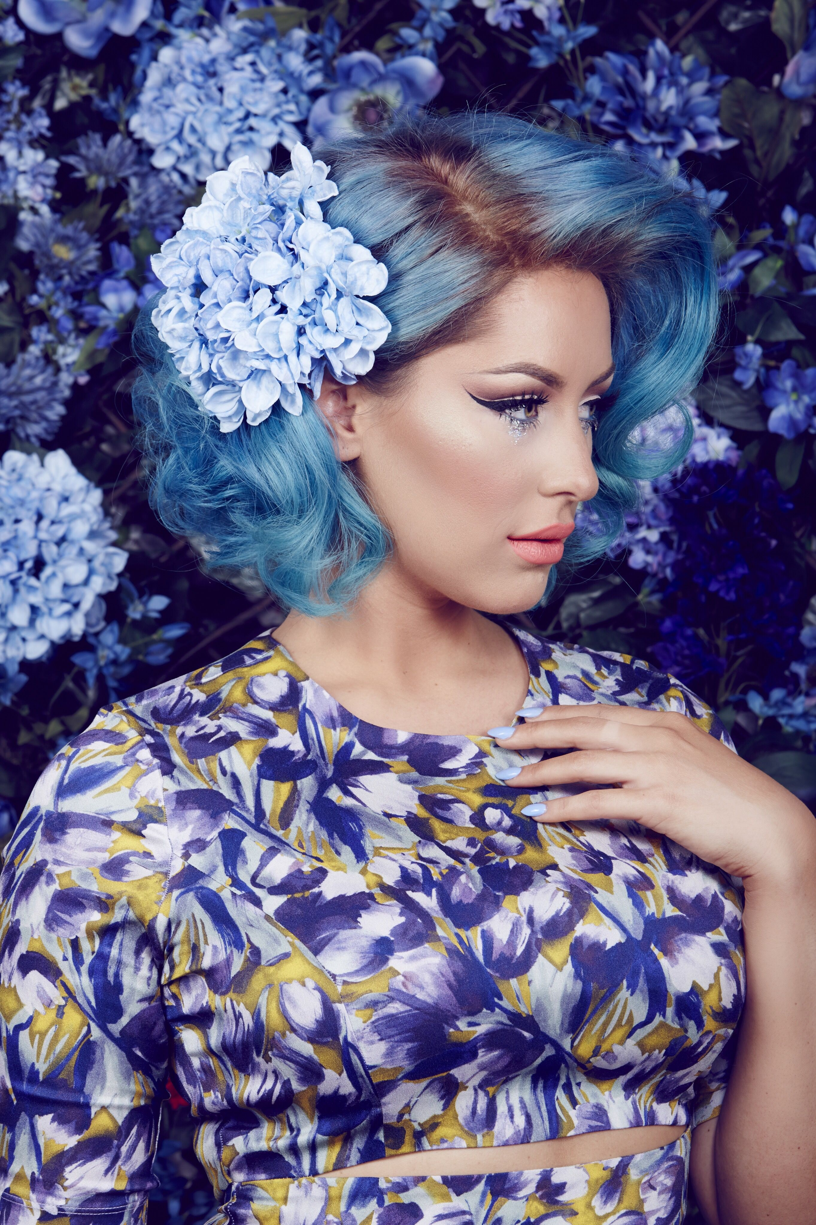 Sign up for ipsy and Get 4-5 Beauty Samples Shipped to Your Door Monthly. Cancel Anytime. #blue #hair #color