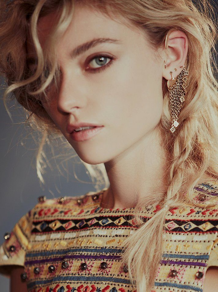 Jenny Bird Crescent Curtain Ear Cuff at Free People Clothing ...