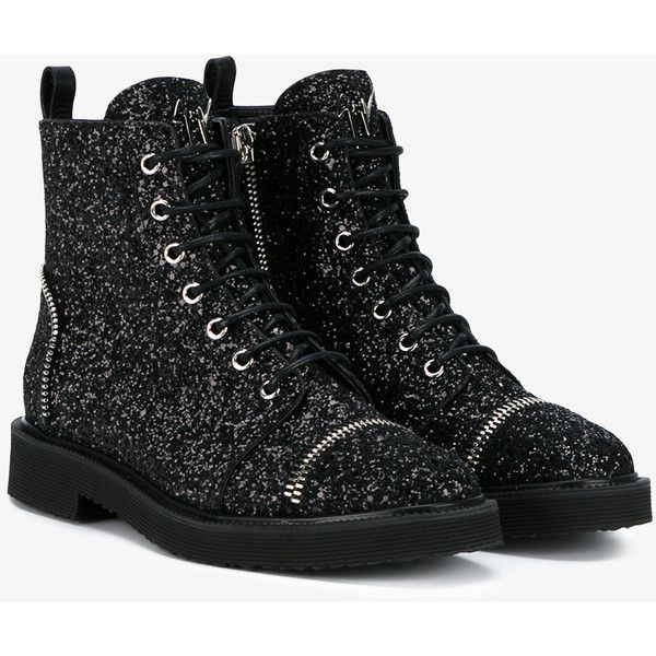 boots, ankle… | Black lace up boots