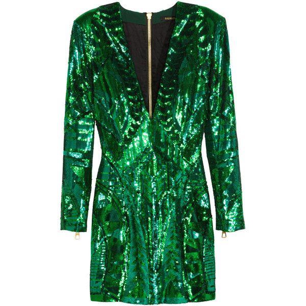 41+ Balmain x hm green sequin dress trends