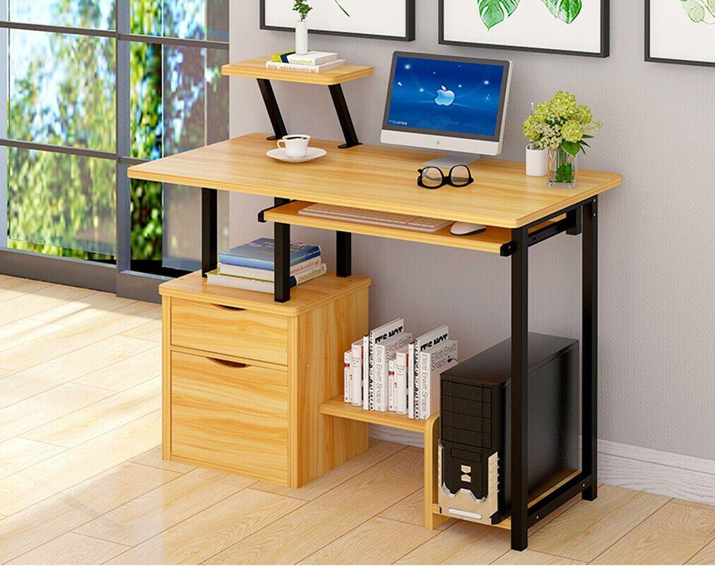 2 Tiroirs Table Dordinateur Bureau Informatique Laptop Pc Plateau De Clavier Informatique Idees De Informatique Informatique Home Decor Desk Home
