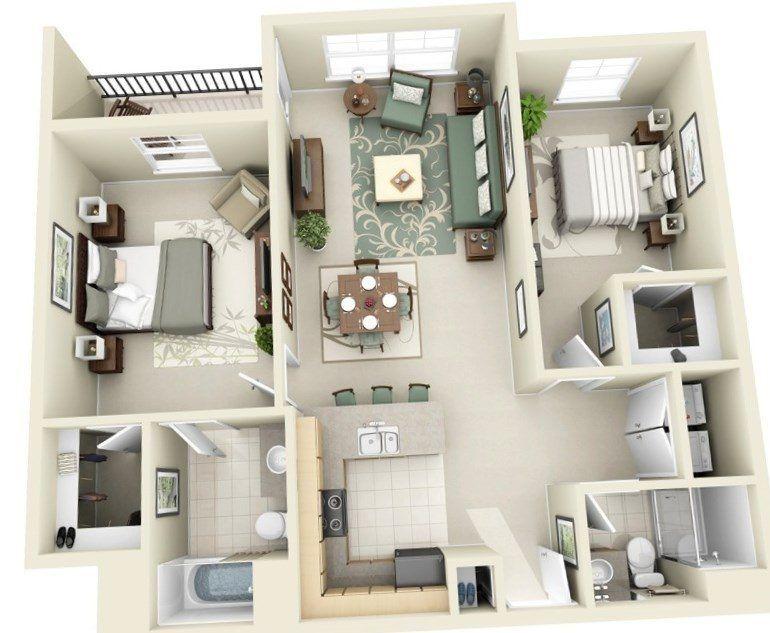 Merveilleux Two Bedroom Home Designs   Https://bedroom Design 2017.info