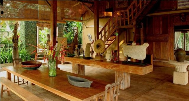 Balinese interior design style house design ideas for Balinese decoration