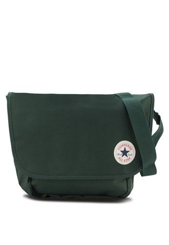 converse bag green