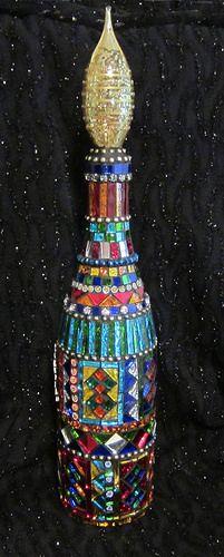 Mosaic Bottle | Flickr - Photo Sharing!