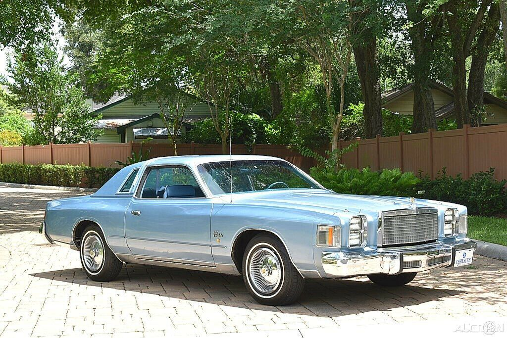 1978 Chrysler Cordoba 400ci, Automatic, Power Steering, A