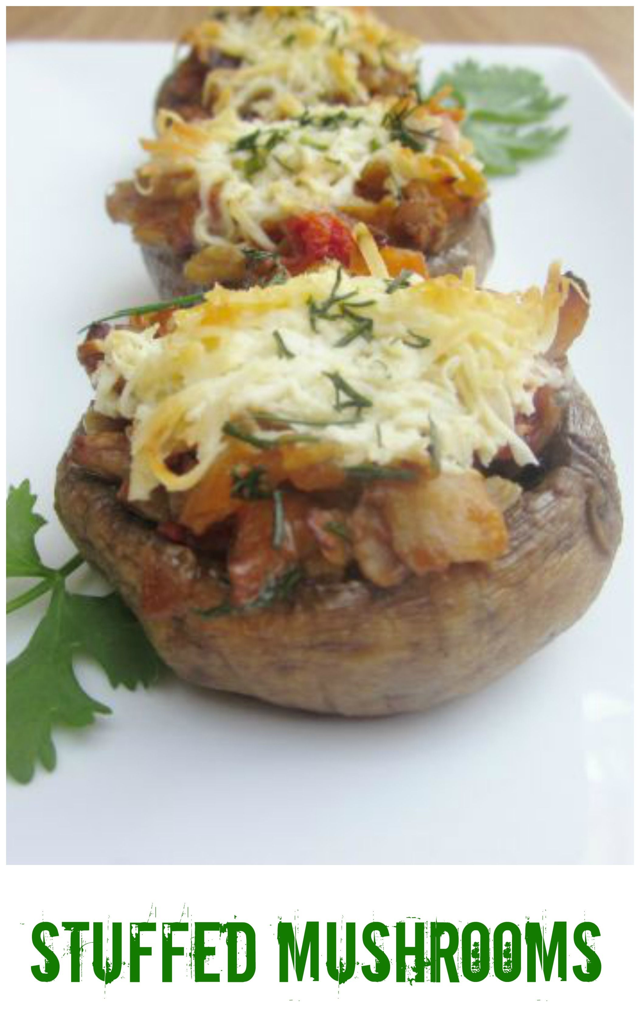 Stuffed mushrooms are a fabulous appetizer for any
