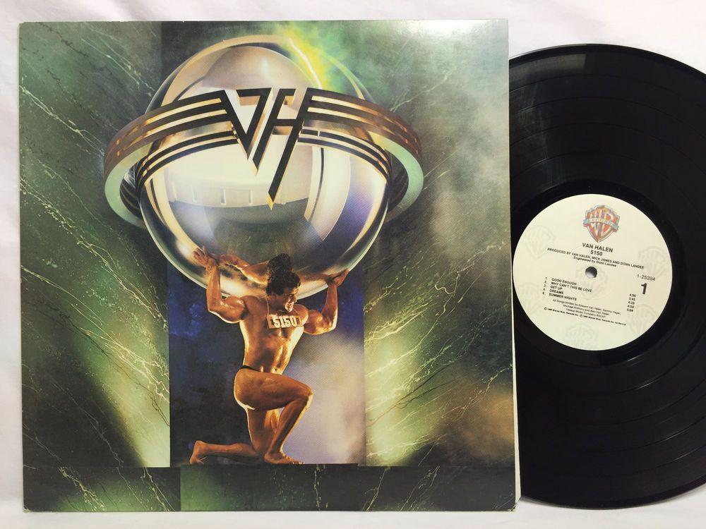 Van Halen 5150 Album LP Vinyl Record Warner Bros. 9