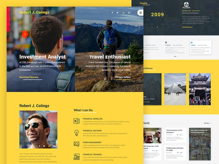 free download colingz personal website template free downloads website free download colingz personal website template maxwellsz