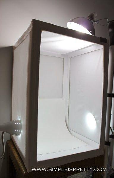 Make Your Own Diy Light Box Tent Simple Is Pretty Www Simpleispretty
