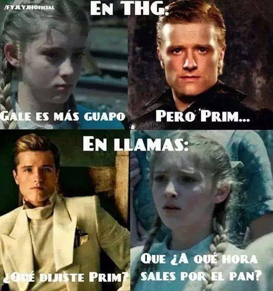 Memes Thg Guapo Mi Vida Entre Libros Pinterest Hunger Games