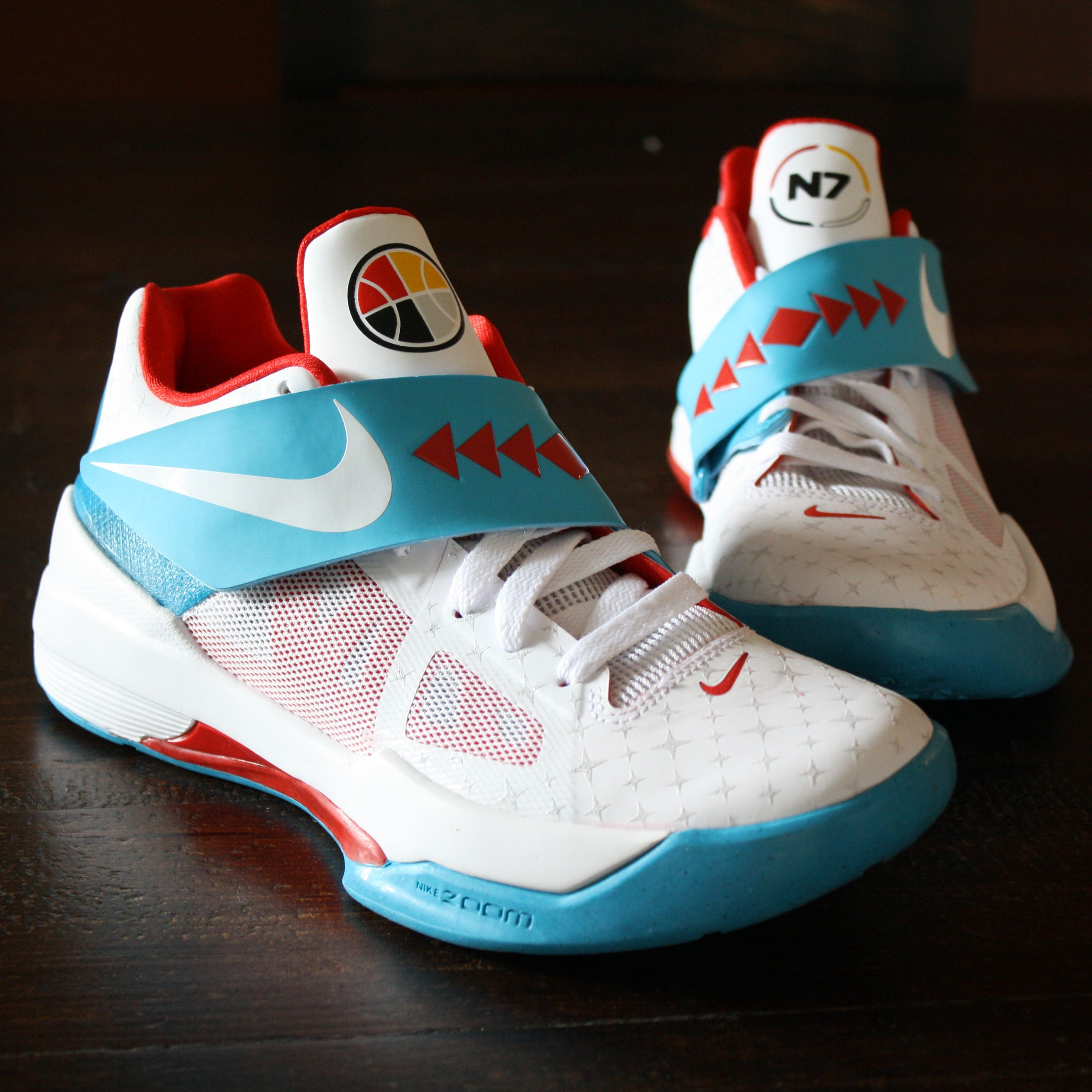 new products 2c276 b58c3 Nike KDs - Boys Sneakers - But if the shoe fits, wear it! Another outlet  find.