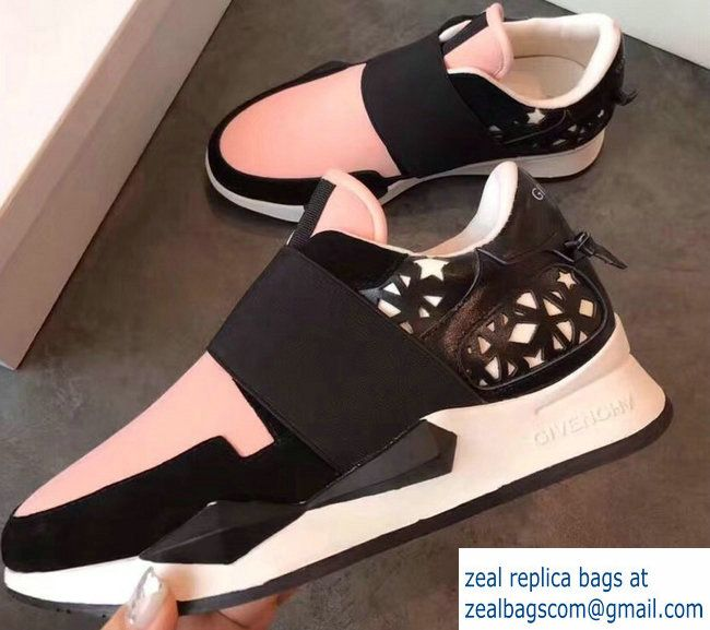 c6101747e2d Givenchy Elastic Strap Active Sneakers Pink 2018 Luxury Shoes, Balenciaga,  Givenchy, Shoe Boots