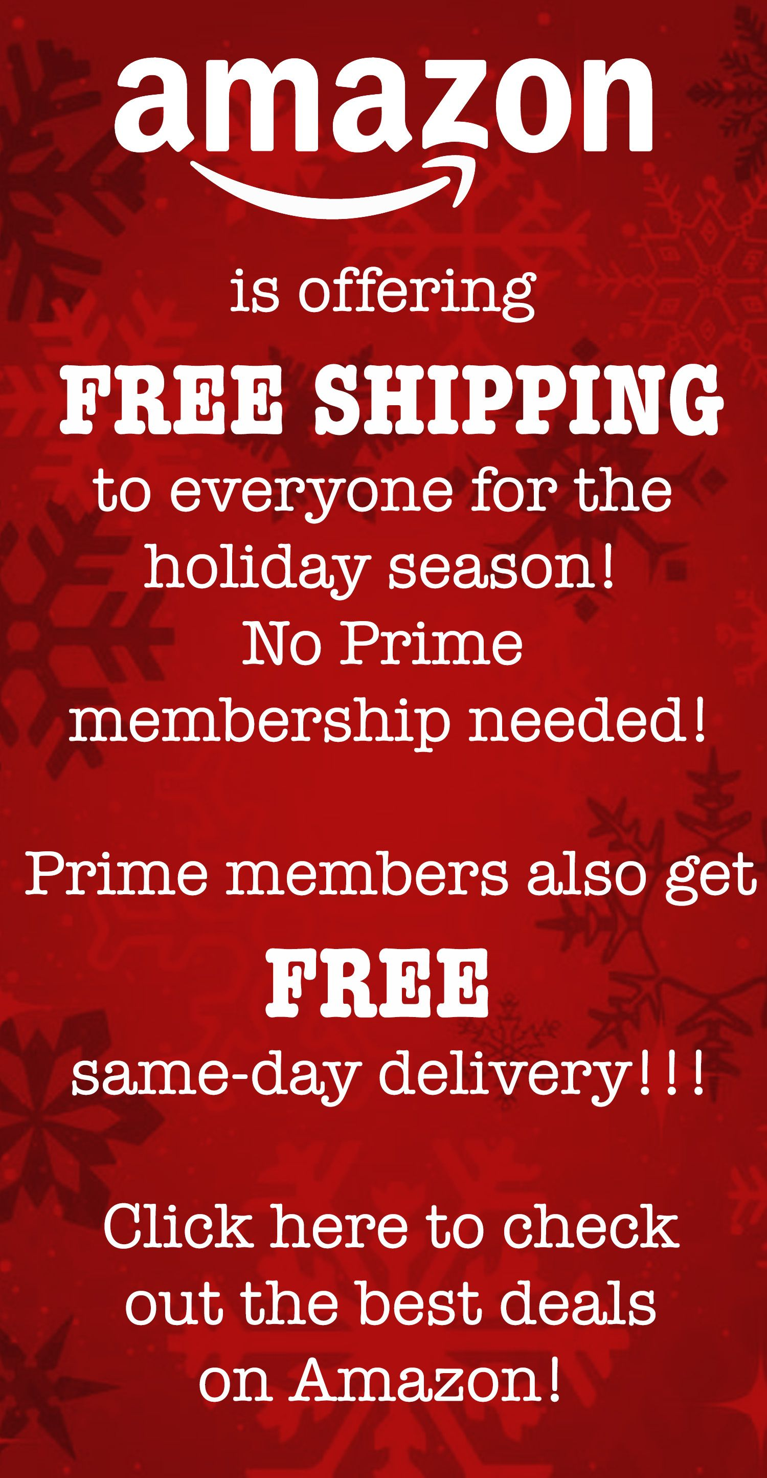 Amazon Offers Free Shipping For Everyone Great Finds Amazon Prime Deal Best Amazon Deals Amazon