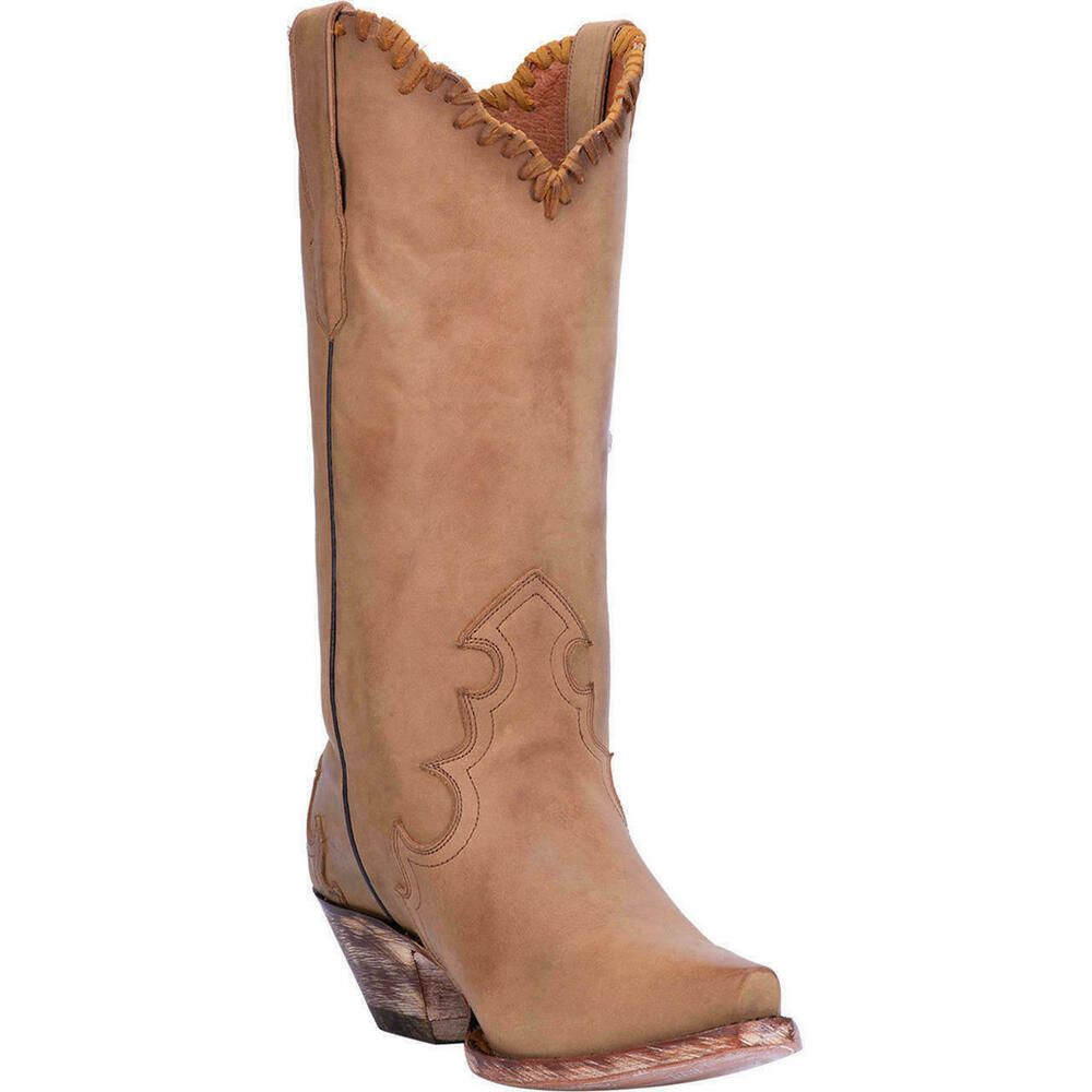8c3ab9fda0a eBay Advertisement) Dan Post Women's Denise Leather Western Boots ...
