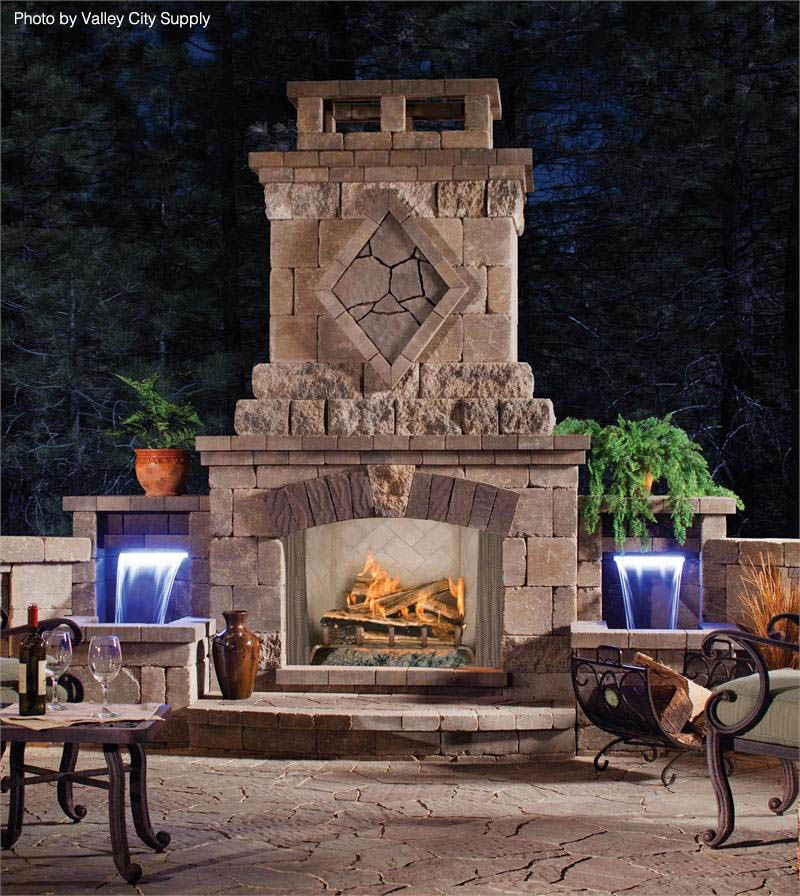 Fireplace & Chimney Costs | Outdoor fireplace kits ...