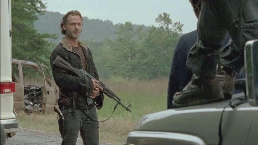 The Walking Dead Season 6 Episode 12 Not Tomorrow Yet The Walking Dead Walking Dead Season 6 Walking Dead Season