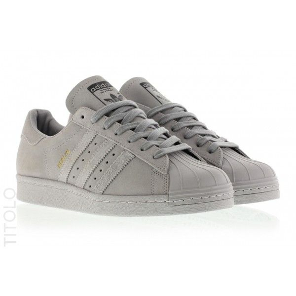 Adidas Superstar 80s City Series Berlin B32661 Light Granite