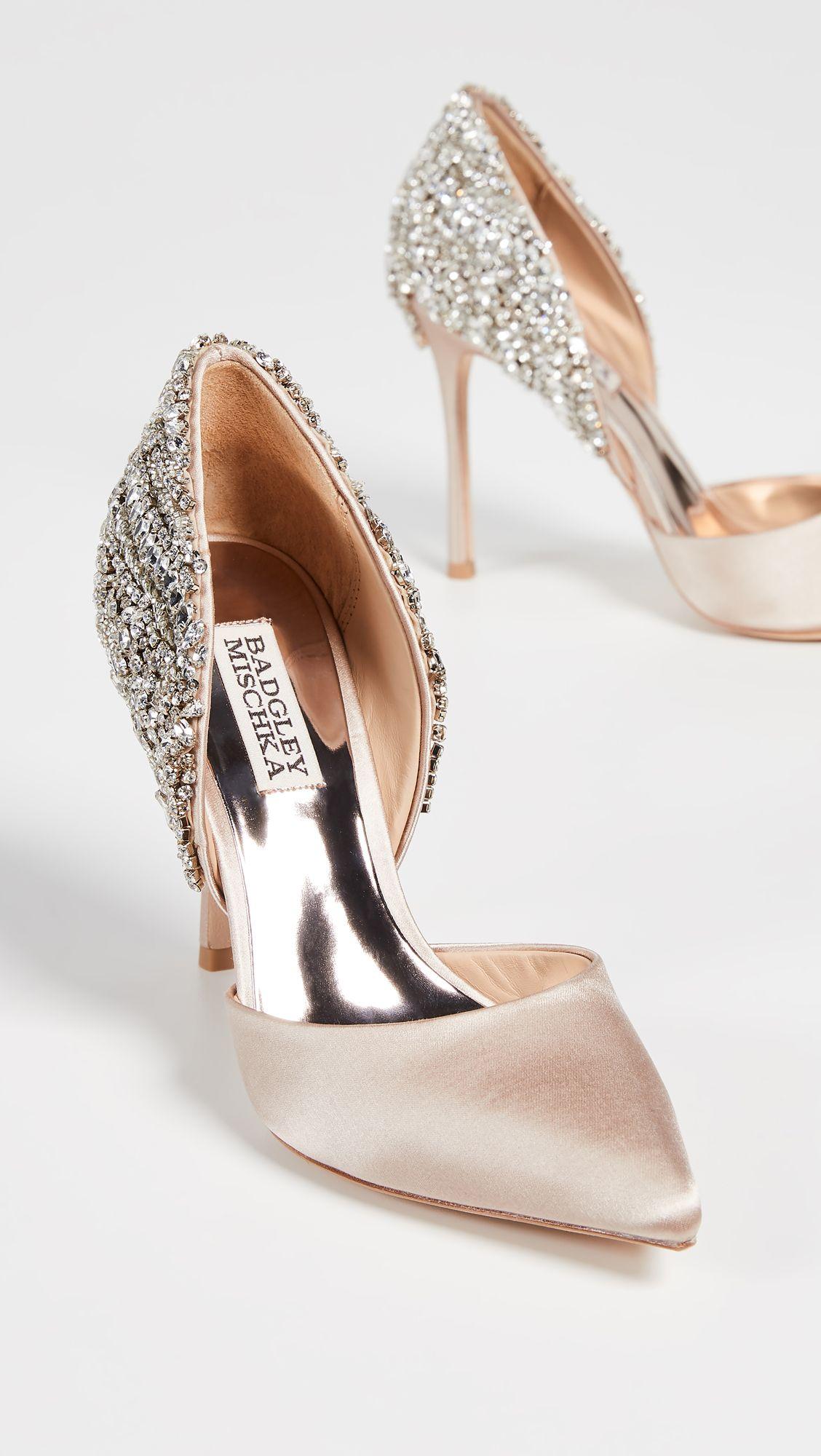 f91cefa9aa Badgley Mischka - Volare Point Toe Pumps | Trendy Dress Shoes in ...