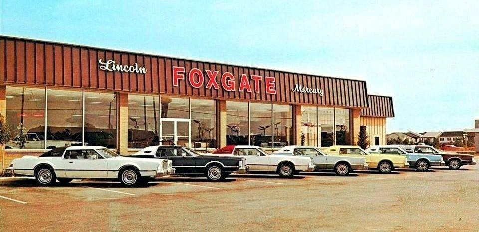 Car Dealerships In Memphis >> 1974 Foxgate Lincoln Mercury Dealership Memphis Tennessee