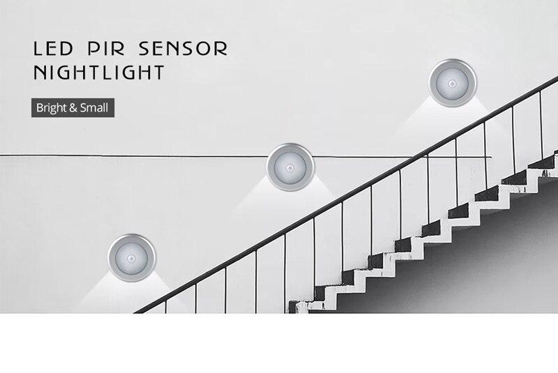 6 Led Motion Sensor Auto On Off Light Magnetic Wireless Detector Light Wall Lamp In 2020 Led Night Light Wall Lights Led