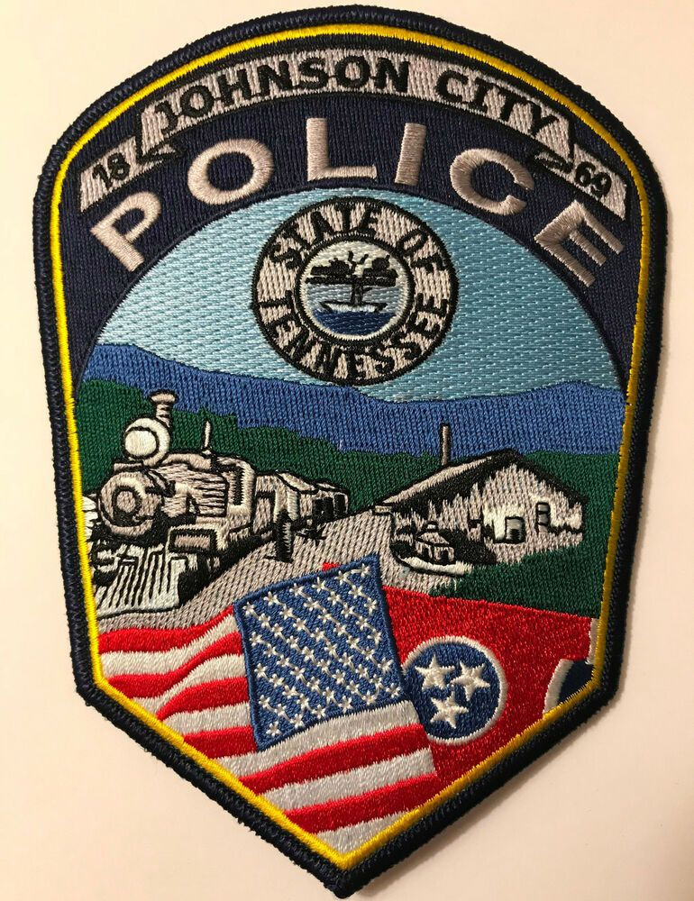 Johnson City Tennessee Police Patch Police patches