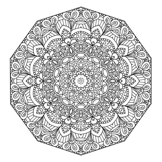 Mandala Coloring Books For Adults Abstract Coloring Pages Detailed Coloring Pages Mandala Coloring Pages