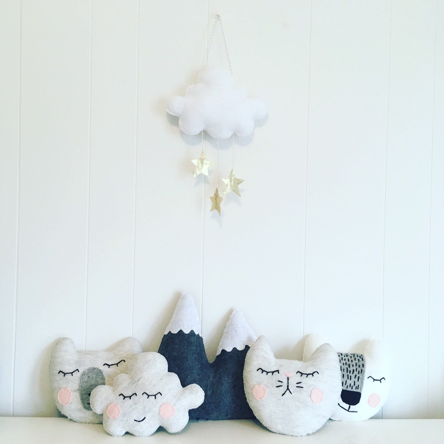All the cuties all together Tooth fairy pillow, Crib
