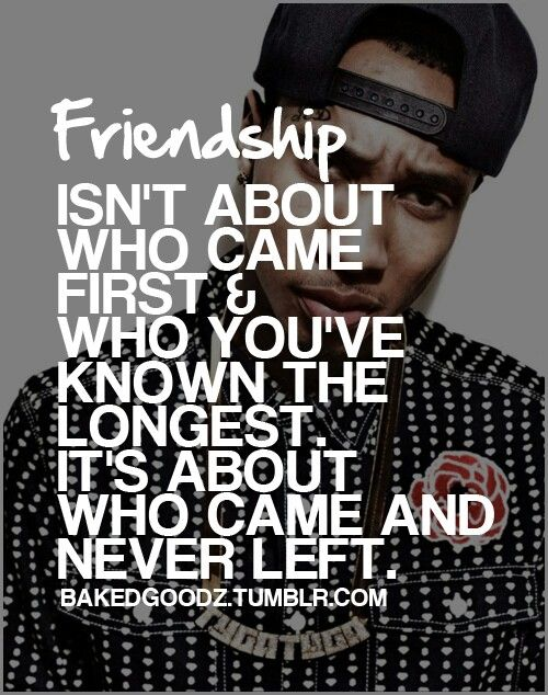Real friendship | Quotables | Rapper quotes, Tyga quotes ...