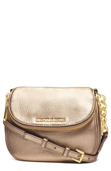 a4fd936fdfc0 MICHAEL Michael Kors 'Bedford' Leather Crossbody available at #Nordstrom