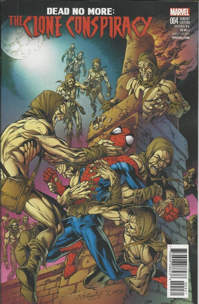 Amazing Spiderman Dead No More Clone Conspiracy Comic Issue Empat Limited Variant