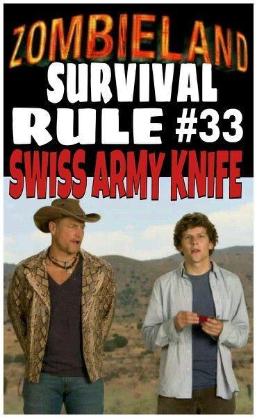 Zombieland Rules | Zombieland rule #33
