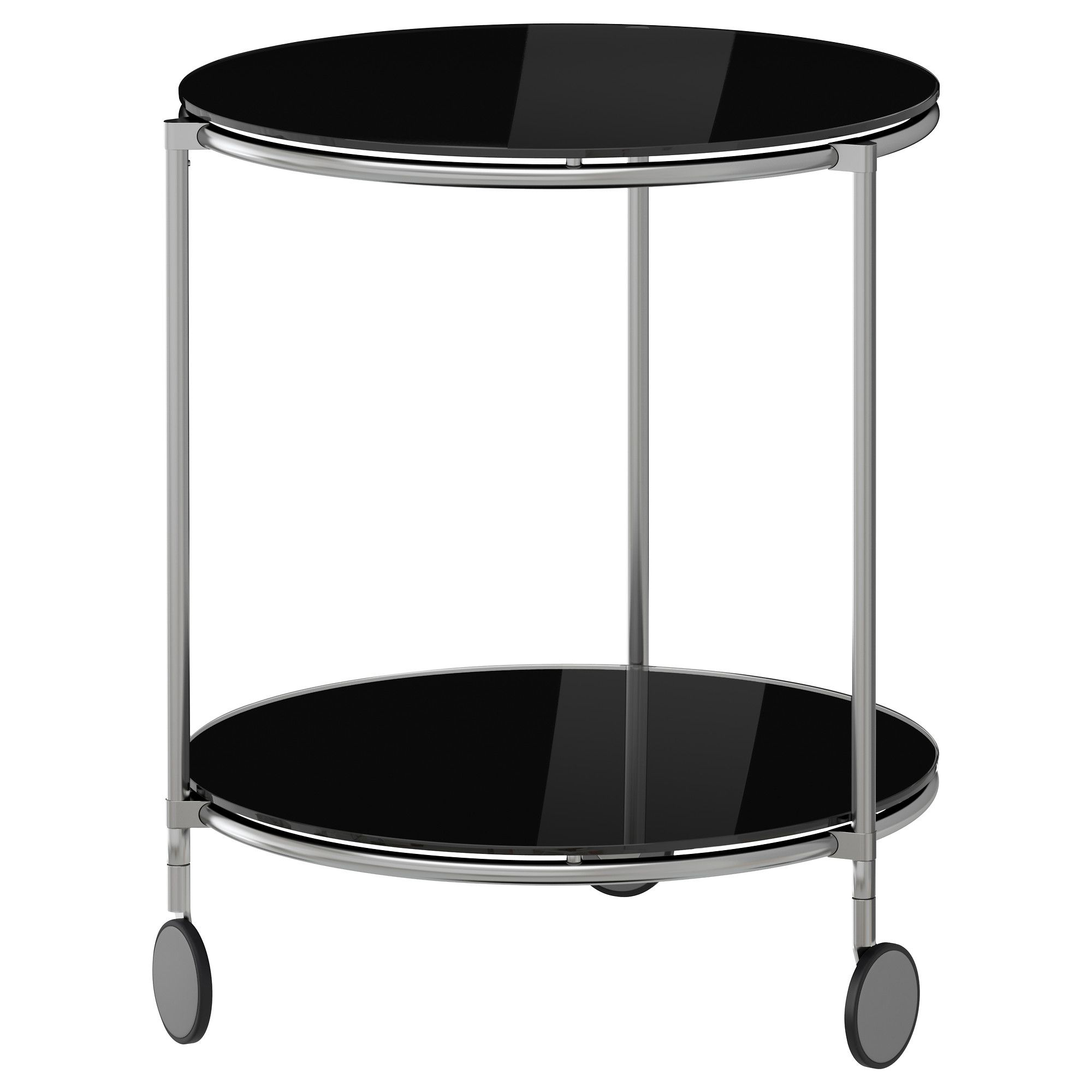 has a swivel out table top for stashing thangss STRIND Side table