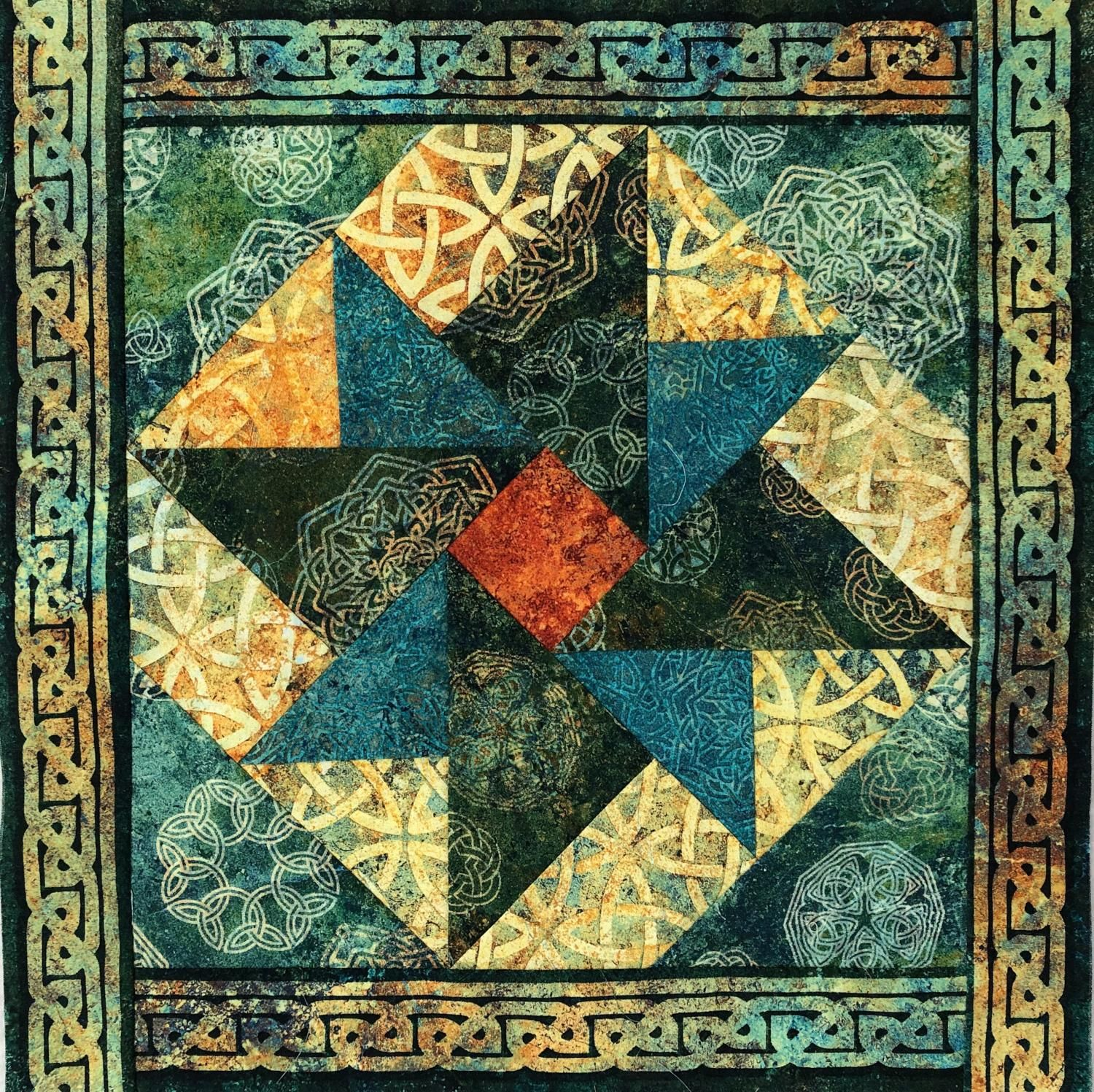Northcott Has Organized The Stonehenge International Block Party That Will Include Quilt Shops From All Around The Stonehenge Solstice Celtic Quilt Stonehenge