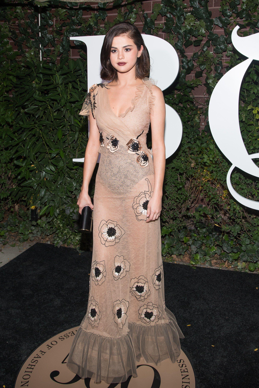 fe77986754f6f Selena Gomez - 2017 BoF 500 Gala - Rodarte   Sel G. (Style) in 2019 ...