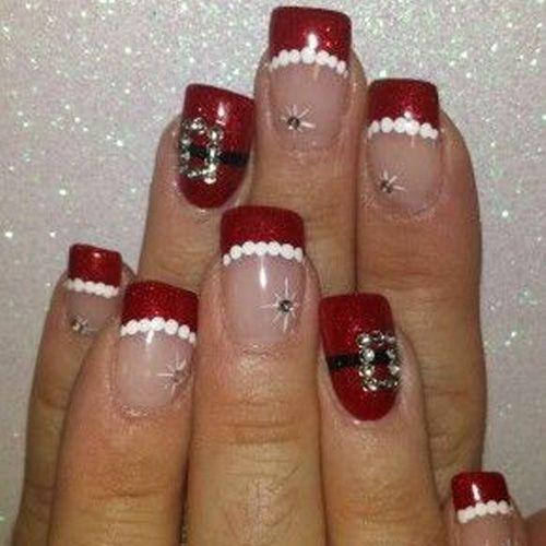 Diy christmas nail art 50 christmas nail designs you can do diy christmas nail art 50 christmas nail designs you can do yourself best nail art solutioingenieria Image collections