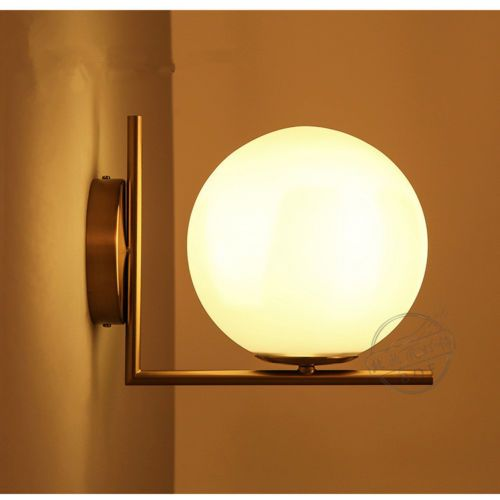 Vintage modern brass sconce flushmount wall light wall lamp white vintage modern brass sconce flushmount wall light wall lamp white globe shade mozeypictures Image collections
