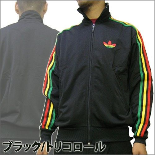 hot sale online 498a6 897ae new-adidas-jacket-adidas-firebird-rasta-jackets-m-