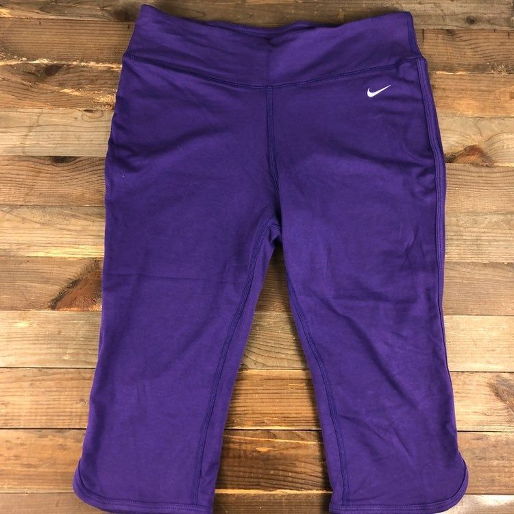 Nike Dri Fit Women's Workout Pants Size Medium Purple ...