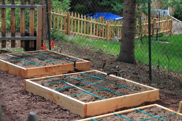 square foot garden soil mixture Outdoor ideas Pinterest Square