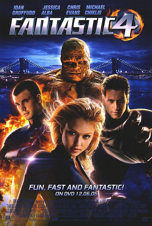 Les 4 Fantastique 2005 : fantastique, Fantastic, Films, Marvel,, Streaming,, Fantastiques