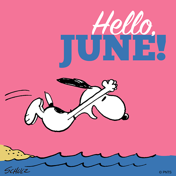 Hello, June! (With images)   Snoopy
