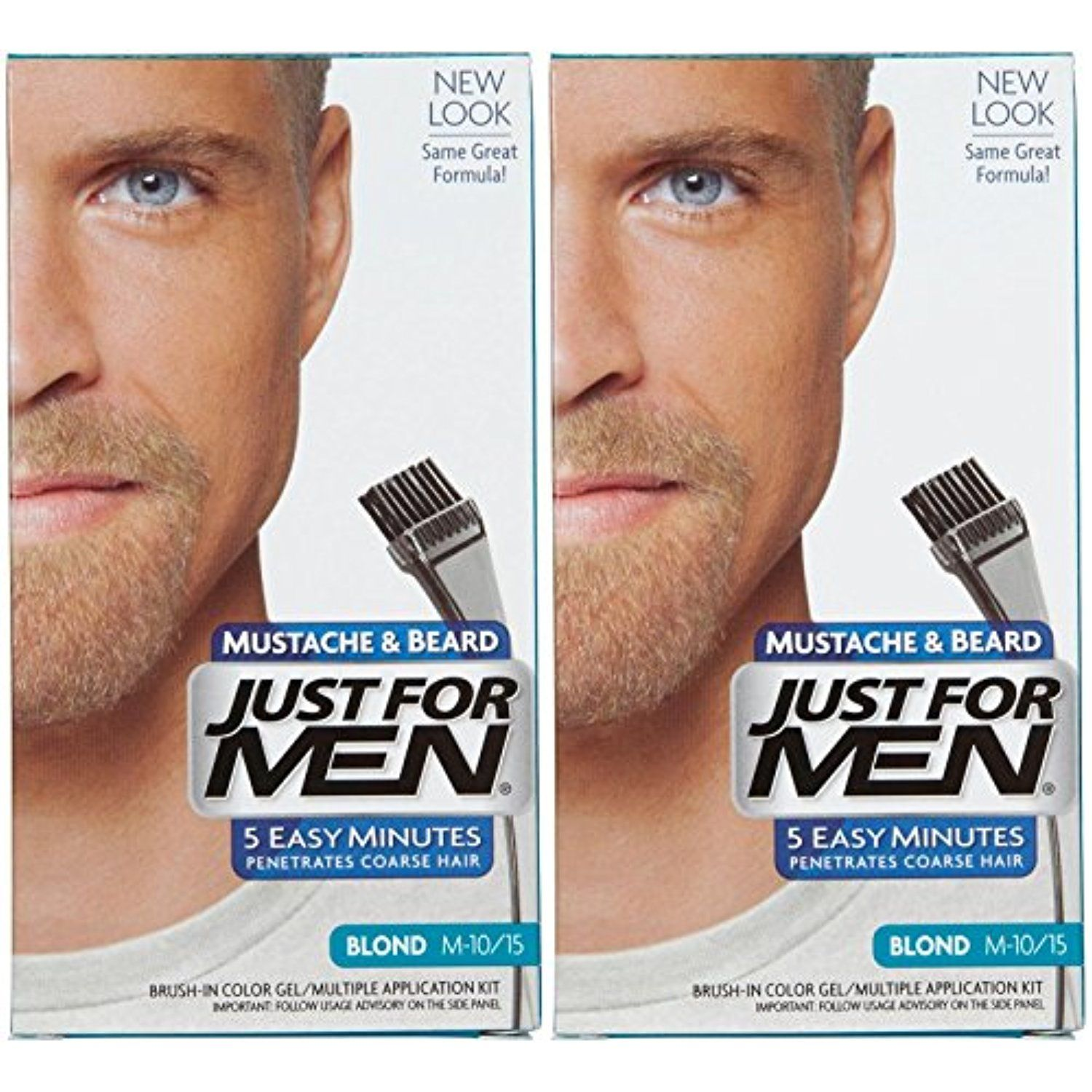 Just For Men Brush-In Color Mustache #HairColoringProducts | Hair ...