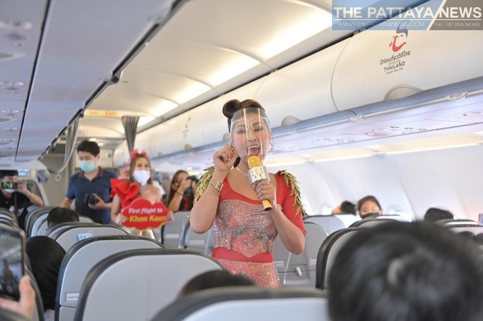 Thai Vietjet Has Surprise Yinglee Concert In The Sky On New Bangkok To Khon Kaen Route Khon Kaen Pattaya Bangkok