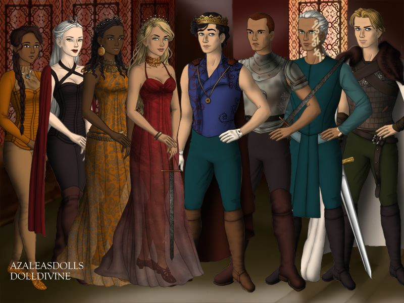 For All Your Book Nerd Needs Throne Of Glass Characters From