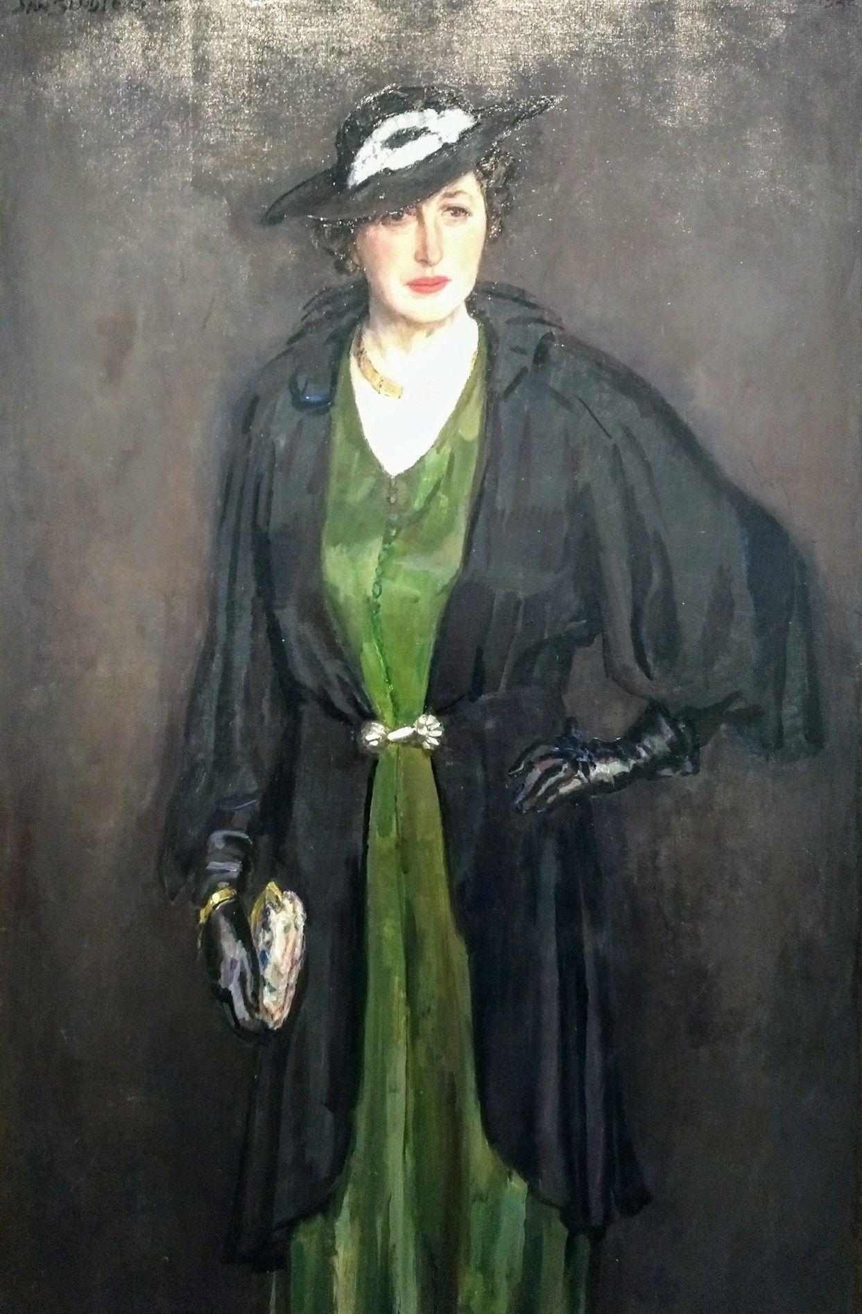25a937c34c7b4c Portret van Greet Sluijters - van Cooten 1940