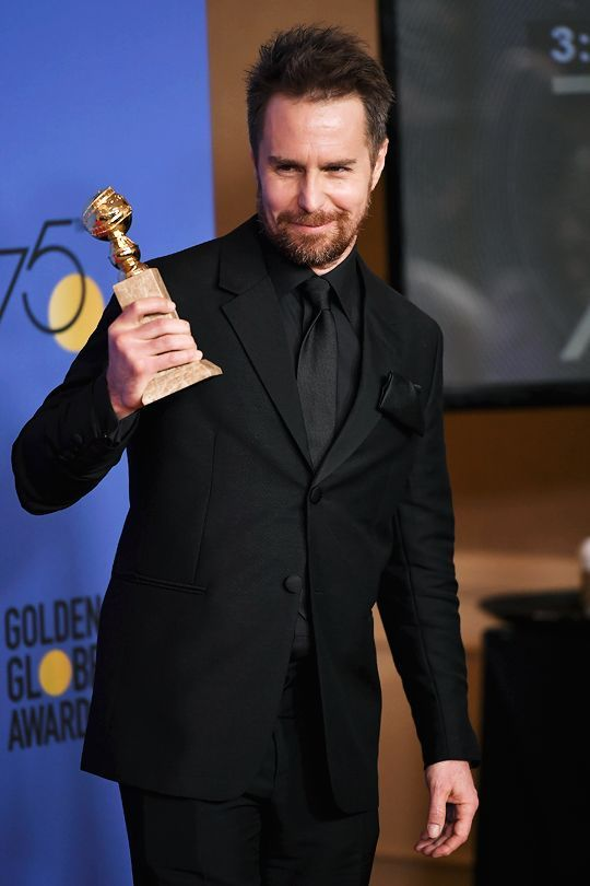 Sam Rockwell - Best Performance by an Actor in a Supporting Role for Three Billboards Outside Ebbing, Missouri  75th Annual Golden Globe Awards, Los Angeles   January 7, 2018